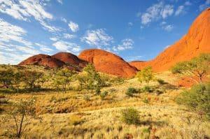 Le parc national de Kata Kjuta en Australie est ouvert à tous.