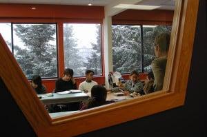 Si vous êtes fan de la glisse, vous allez être comblé en étudiant à Whistler