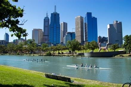 Melbourne en Australie sous le soleil, parfait pour un Working Holiday.