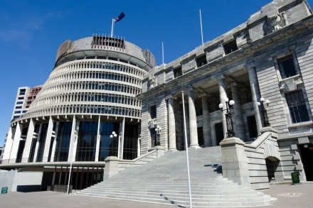 Le Parlement en Nouvelle-Zélande se trouve à Wellington
