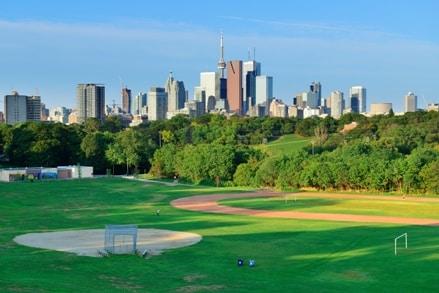A Toronto la Skyline est impressionnante