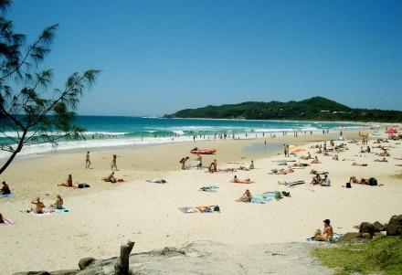 Niveau plage, Byron Bay est unique en Australie