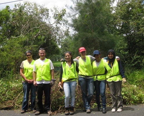 chantiers nature : your team of volunteers